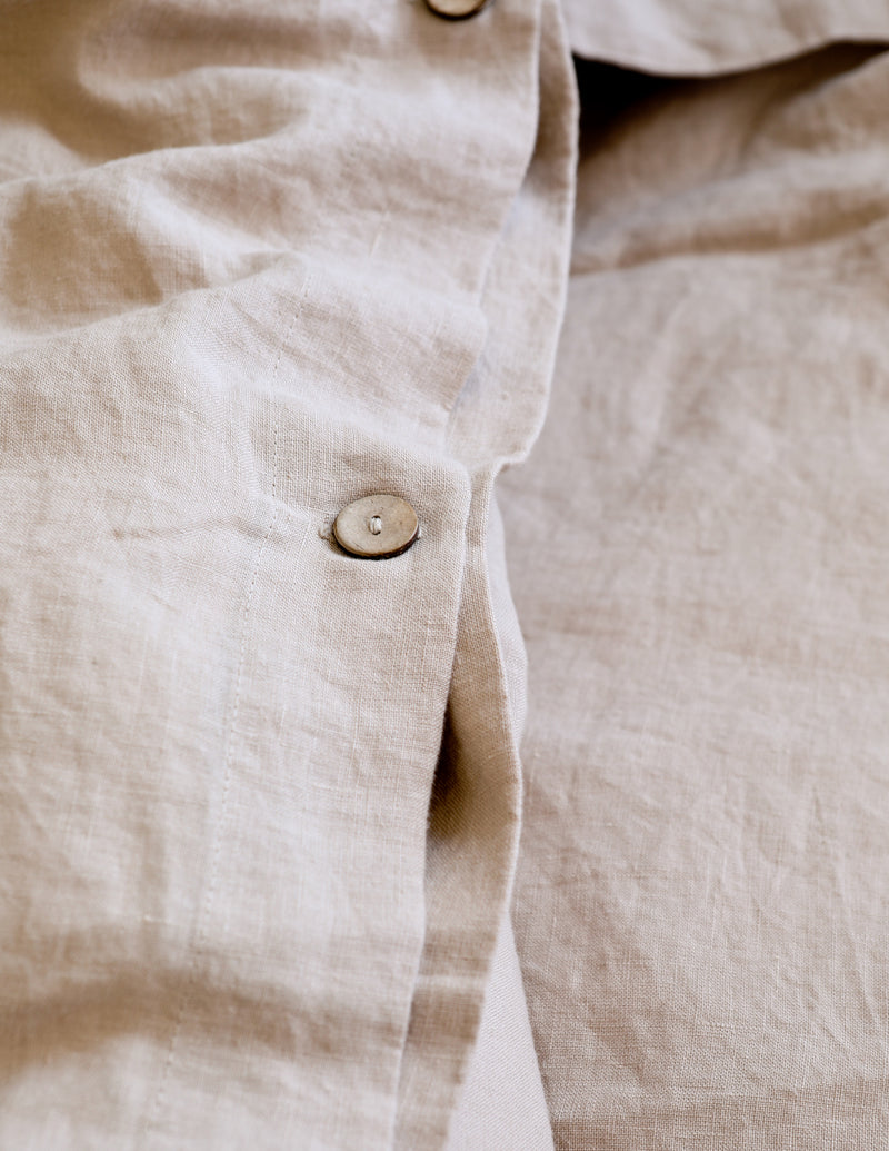 Linen Sheet Set - Natural