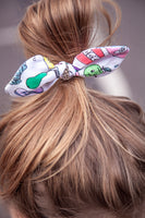 Handmade Colour-in Cotton Hair Bow