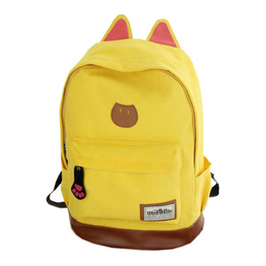 Canvas KatPack in Yellow