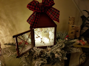 Colorado Christmas Lantern
