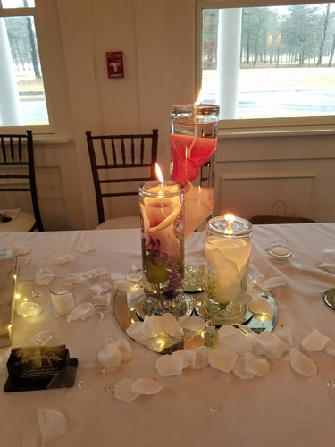 Calla Lily Oil-Lamps and Arrangements/Centerpieces