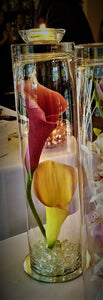 Large Calla Lilies Candle with or without lights