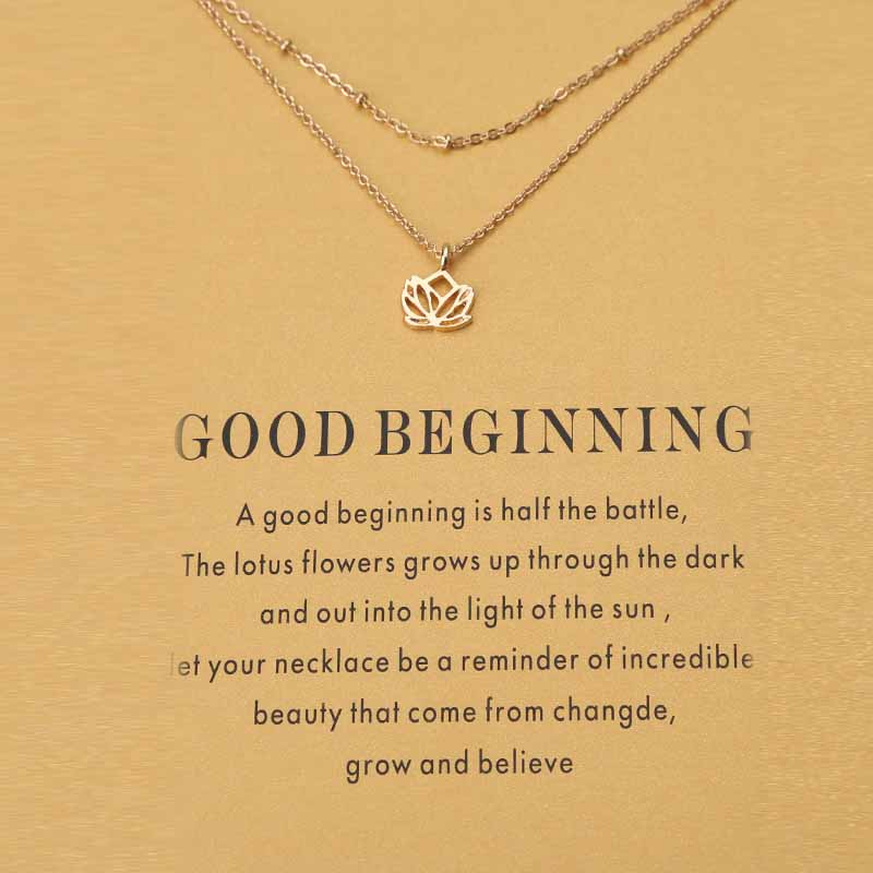 2017 fashion gold sand card elephant beads lotus charms necklace 2017 fashion gold sand card elephant beads lotus charms necklace pendant fitting women jewelry findings as mozeypictures Images
