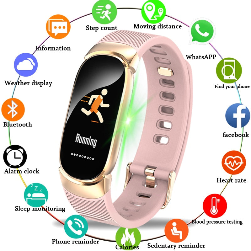 Men LED Waterproof Smart Watch