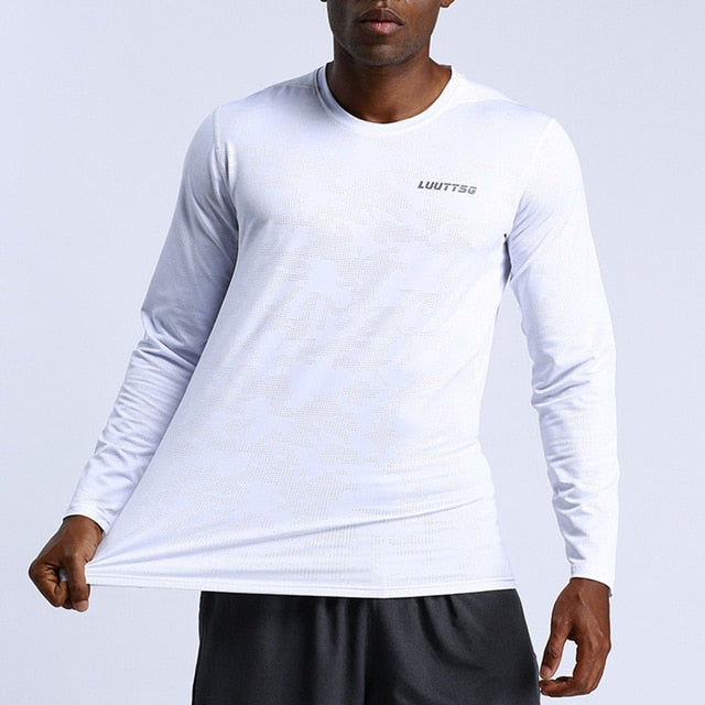 Men Gym Long Sleeve T-shirts