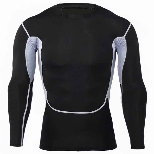 Mens Compression Bodybuilding Jerseys