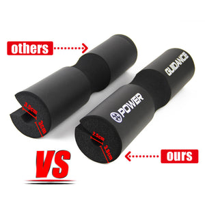 Barbell Squat Pad/Weight Lifting Cushioned Neck & Shoulder Protective Pad - for Bar, Hip Thrusts
