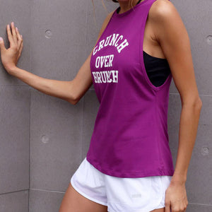 Sleeveless Running Gym Fitness Shirts