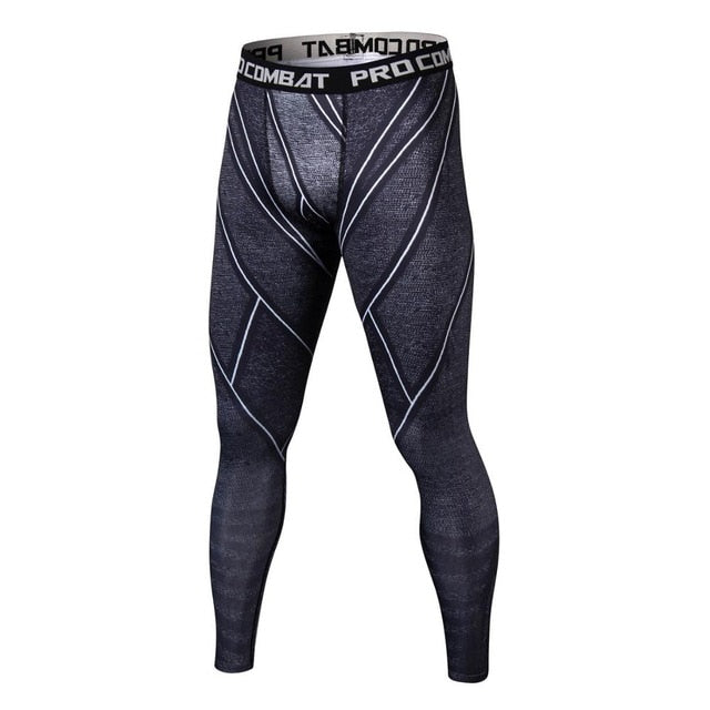 Black Panther 3D Mens Workout Leggings