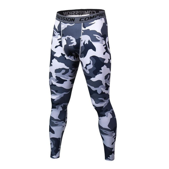 Camouflage Pants Men Fitness Joggers