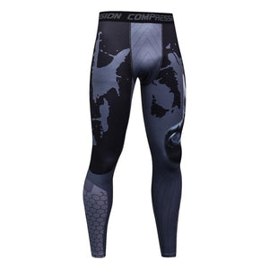 Men Spiderman Flash Elastic Trousers