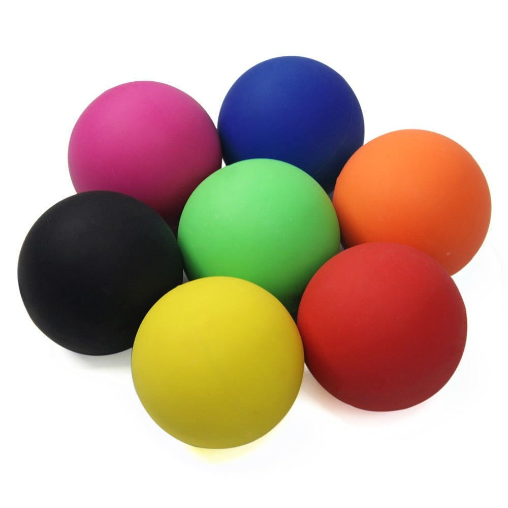 6cm Lacrosse Ball 100% Rubber Fitness Ball