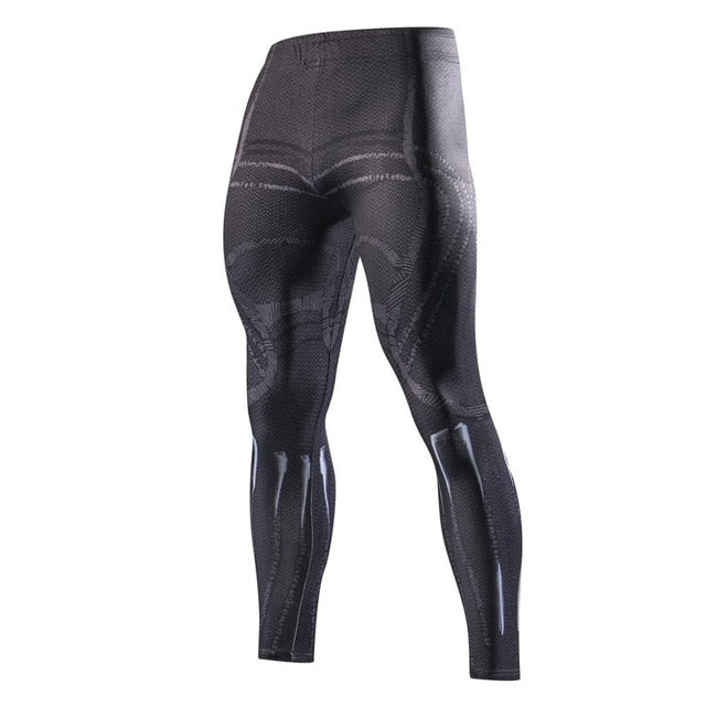 Men Skinny Compression Pants