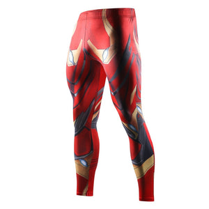 Infinity War iron Man Printed Compression Tights Pants