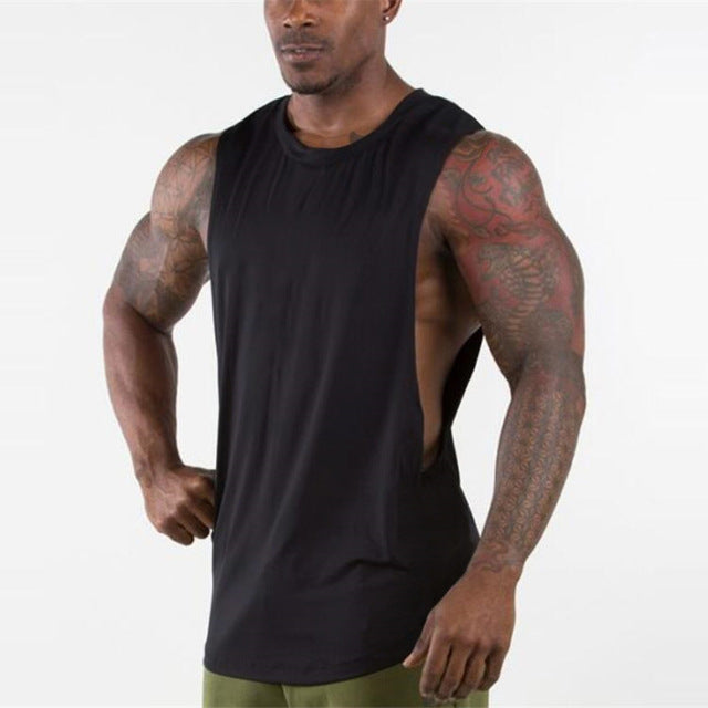 Men Gyms Stringer Sleeveless Shirt