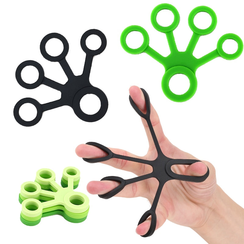 Finger Hand Grip Silicone Ring