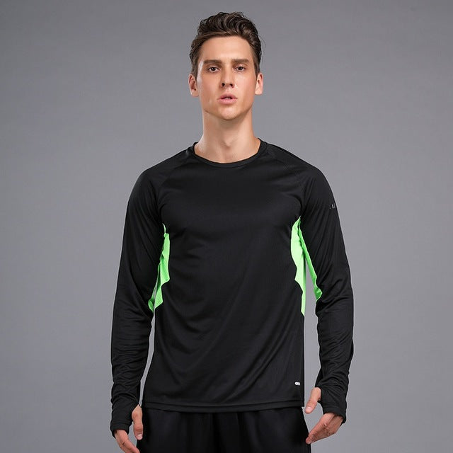Quick Dry Compression Running T-shirt For Men