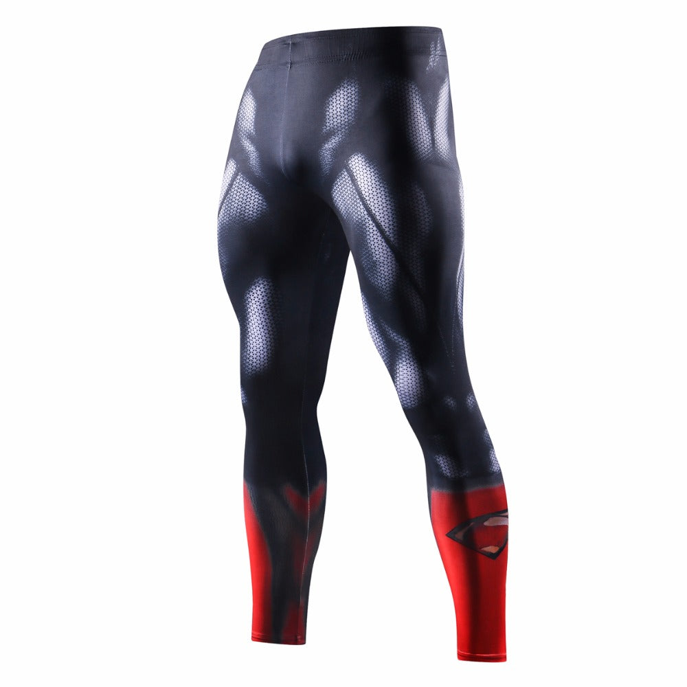 3D bodybuilding jogger fitness leggings