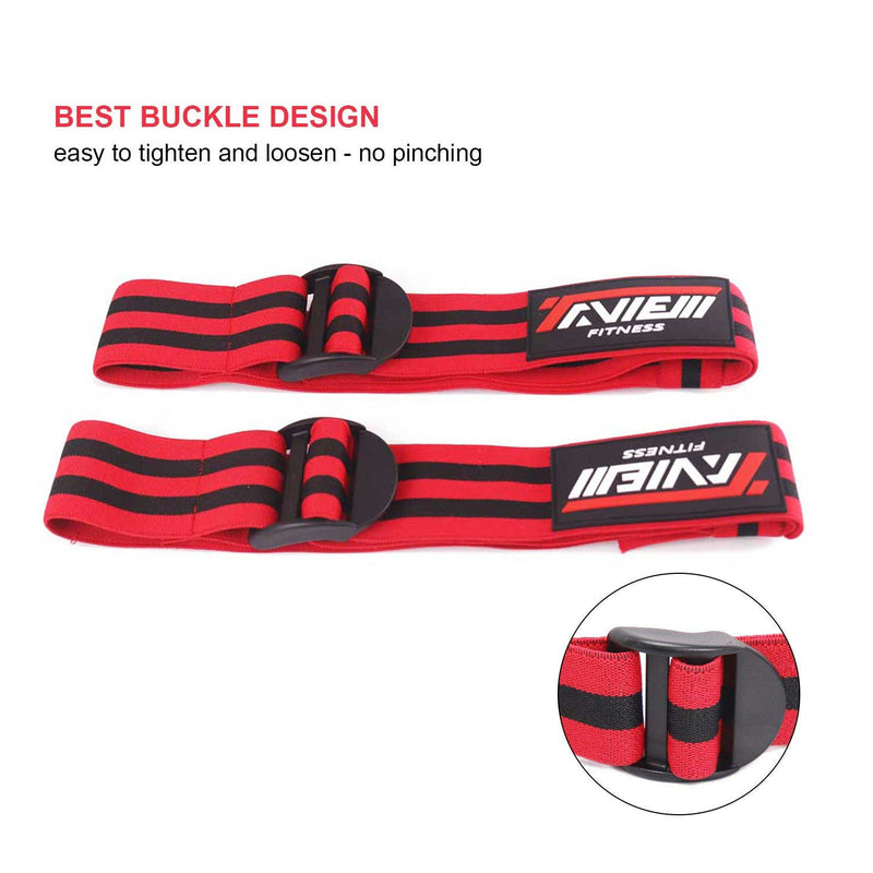 Bodybuilding Fitness Blood Flow Restriction Bands for Arms & Legs