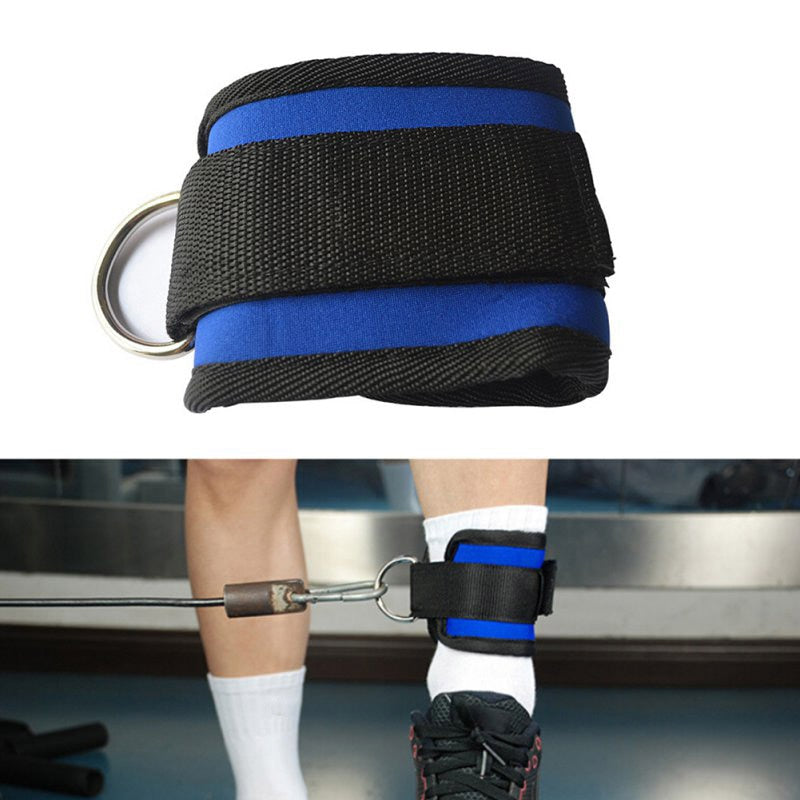 D-ring Ankle Anchor Strap Belt Multi Gym Cable