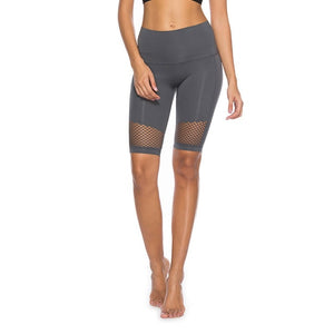 Elastic Pocket Five Short Fitness Gym