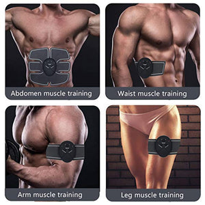 Pre-exhaust secret; use our Muscle Electro Stimulator EMS ABS Electro stimulator to train abs
