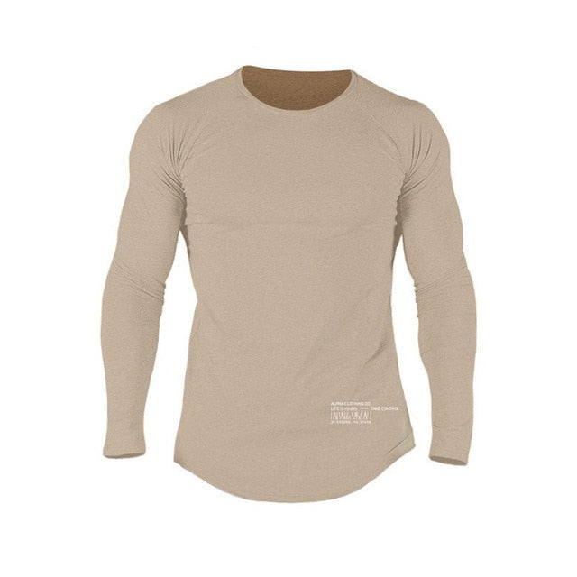 Men Fitness Sport Shirt