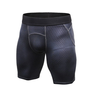 Men Sports Running Tight Shorts