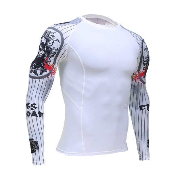 fitness sports men's compression sportswear