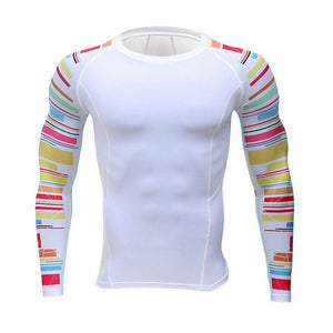 Mens Fitness Long Sleeves T-Shirt
