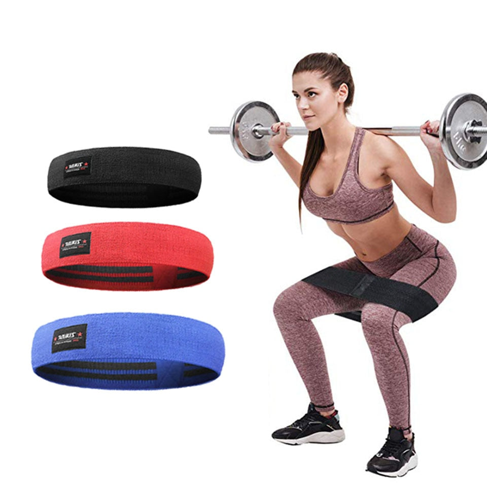 Booty Resistance Workout Hip Exercise Bands