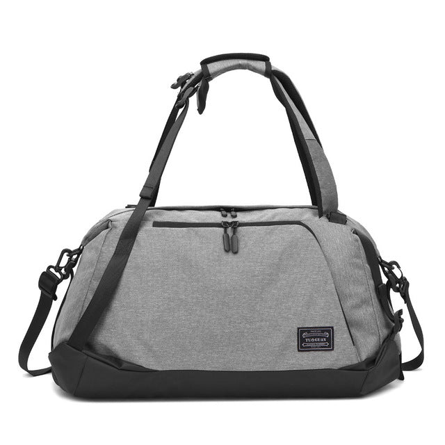 New Men Sport Gym Bag with Shoes Compartment