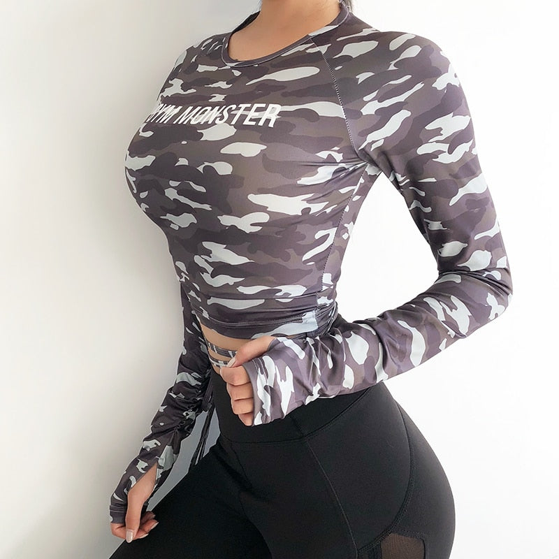Gym Top Sexy sports T shirt