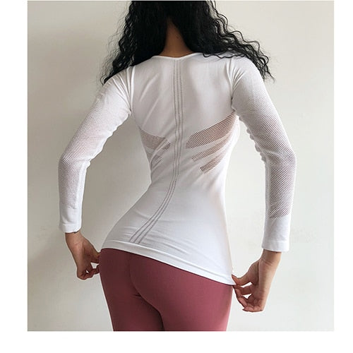 long sleeves sports T-shirt