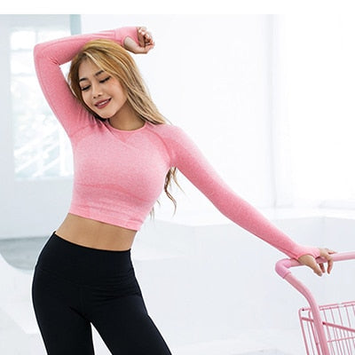 Running Sports Workout Tops