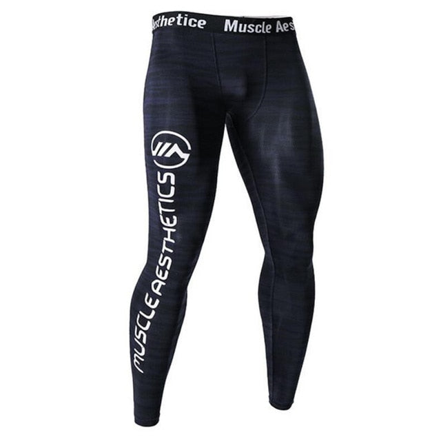 Men Compression Quick dry Skinny Leggings