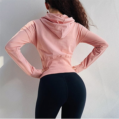 Long Sleeve Thumb hole Runing Clothing