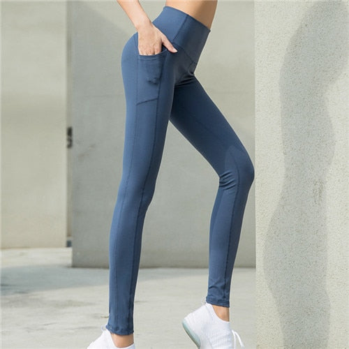 Women Hight Waist Hip Yoga Pants