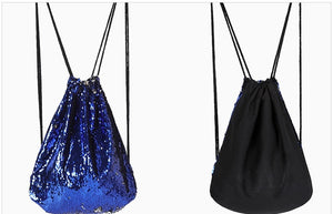 Outdoor Sports Backpack With Sequins