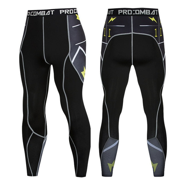 Elastic Compression Pants