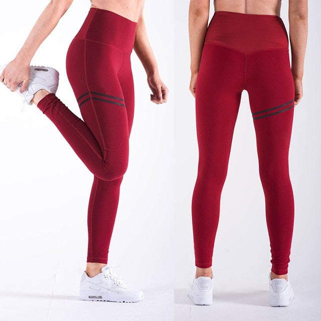 Athletic Offset Running Pants
