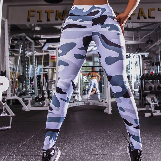 Women Camo Tights