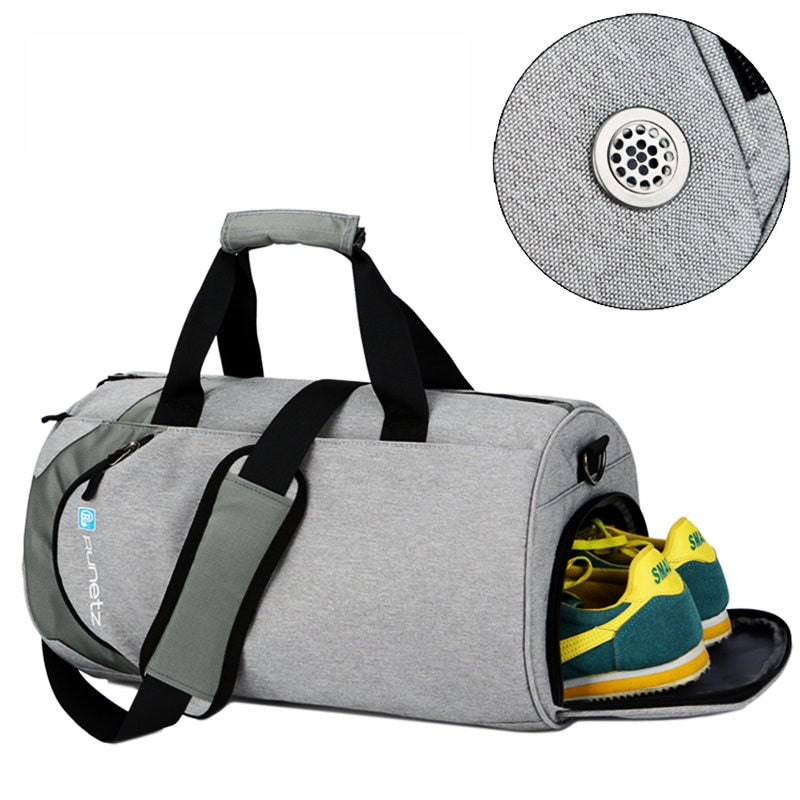 men Large Gym bag with shoe compartment