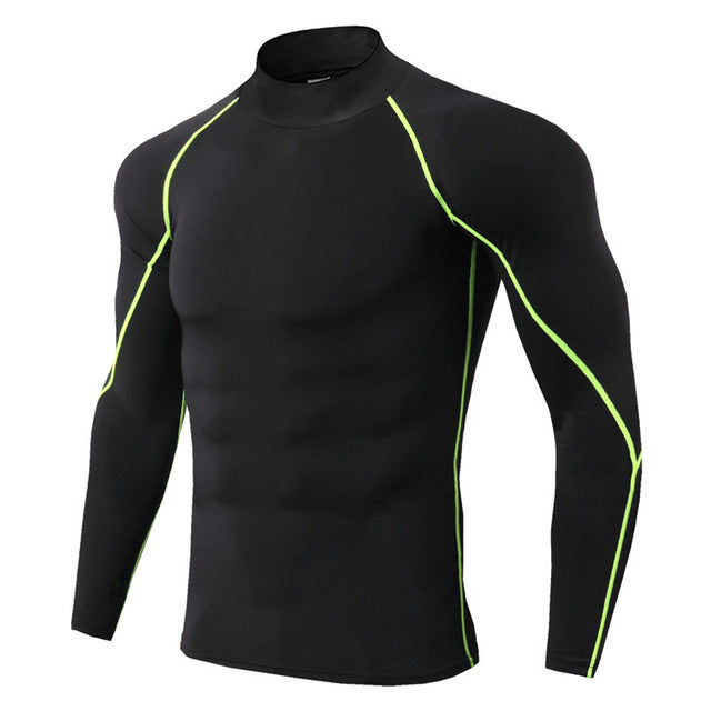Men Bodybuilding Sport Long Sleeve