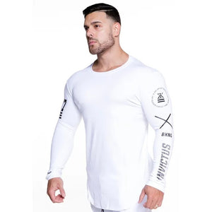 Men Running Sport Long sleeve Shirt