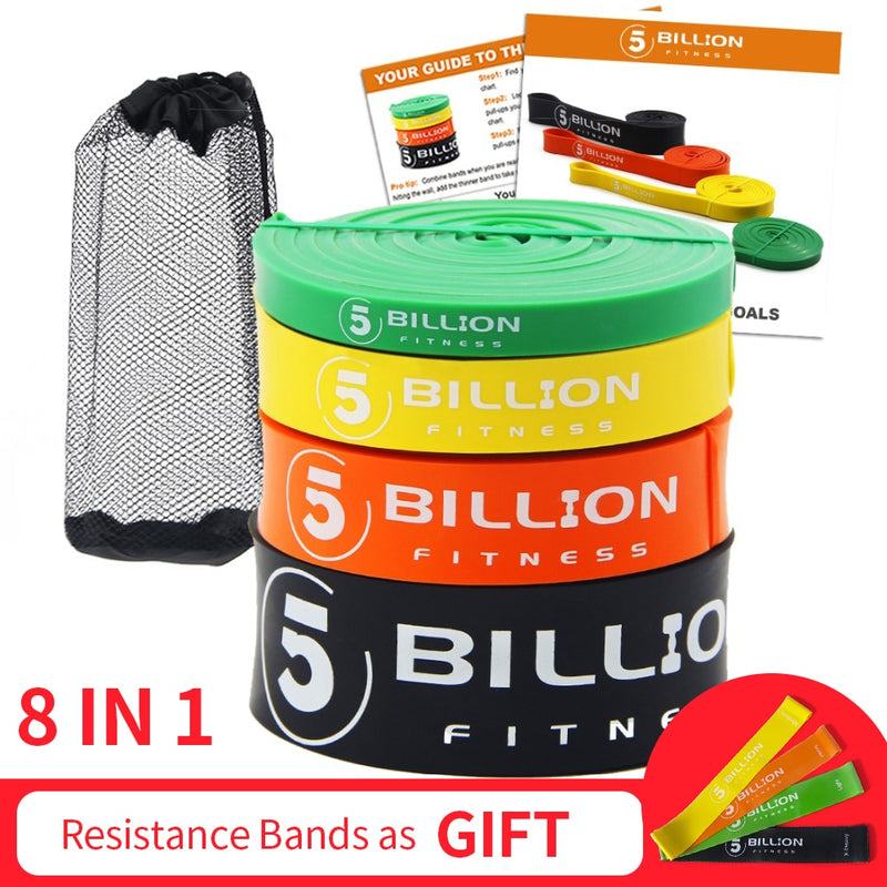 Heavy Duty Latex Fitness Resistance Bands