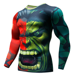 Hulk Gym Running T Shirt