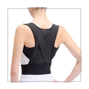 Male Female Adjustable back support belt