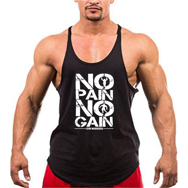 Batman Bodybuilding Stringer Tank Top