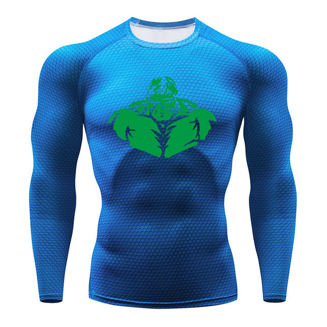 Men's long-sleeved T-shirt